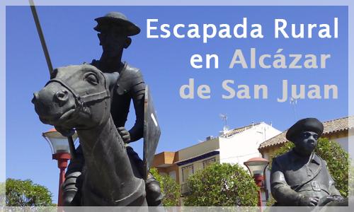 Estatua de Don Quijote en Alcázar de San Juan